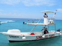 Cozumel Glass Bottom Boat Snorkel Tour