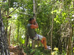 zipline playa del carmen from cozumel cruise excursions